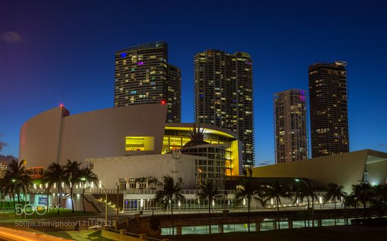 American Airlines Arena by Greg_Urbano. @go4fotos