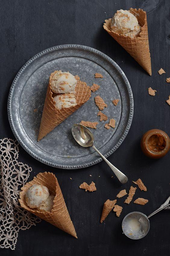 Banoffee Ice Cream | Ananas e Hortela