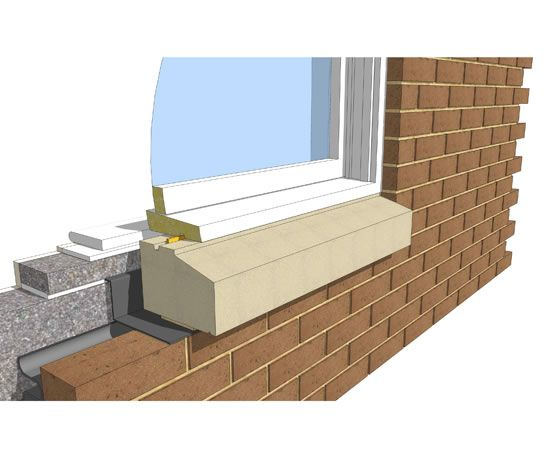 Stone window sills cast stone sills cast stone sill brick exterior ideas pinterest - Painting window sills exterior set ...