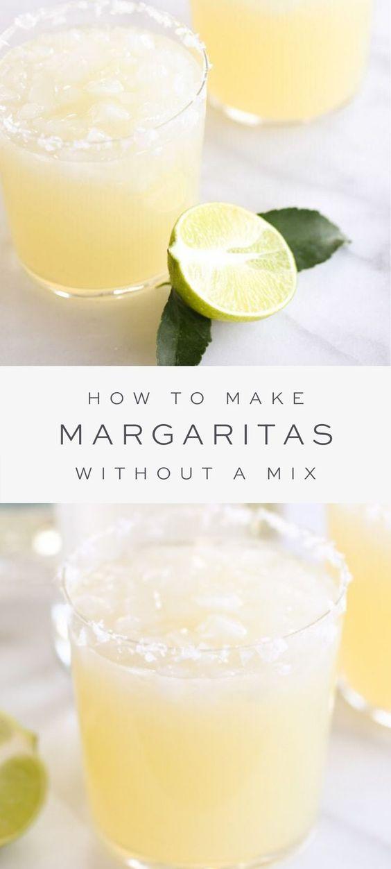 Homemade Margarita {Easy Made from Scratch Margaritas}