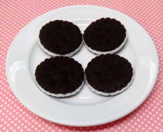 Felt Oreo Cookies