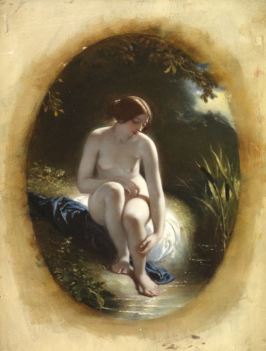 Image result for river naiad in painting