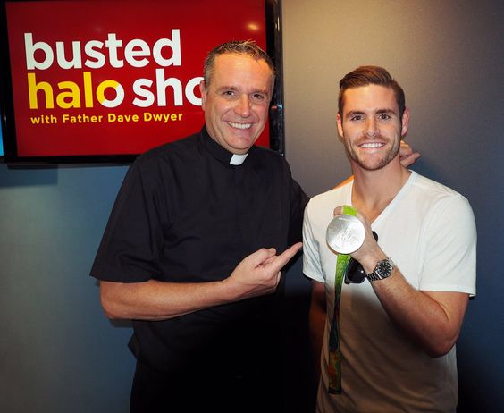 "David Boudia, who won silver and bronze medals in diving at the 2016 Olympic Games in Rio, dropped by the ""Busted Halo Show"" on August 25, 2016, to chat with Paulist Fr. Dave Dwyer about his book ""Greater Than Gold."""
