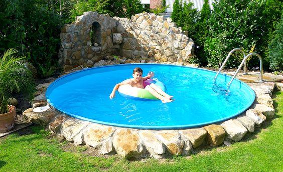 Perfekt Bei Der Poolgestaltung Sind Keine Grenzen Gesetzt. #swimmingpool  #schwimmbecken #kinderspaß #gartenpool #pool #rundpool   Gartenpools Von  POOLSANA ...