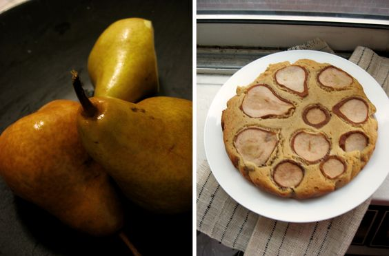 Rustic Cardamom Cake with Pear and Honey | Pears, Honey and Rustic