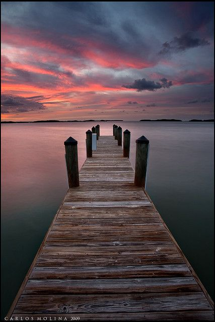 Key West #Floride photo Carlos Molina #ponton #mer