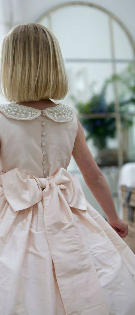 A Little Girl flower Dress: