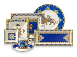 Samarkand collection cobaltblue villeroy boch for Bosch and villeroy