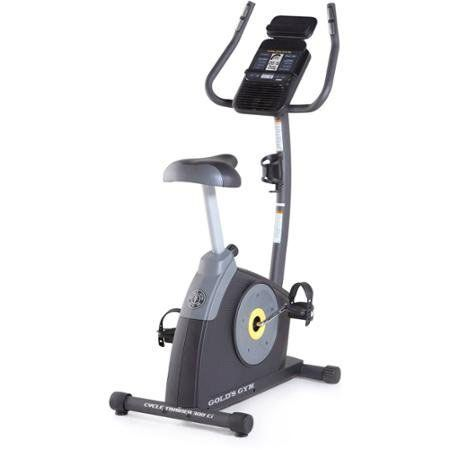 Gold's Gym Cycle Trainer 300 Ci Exercise Bike with Bluetooth
