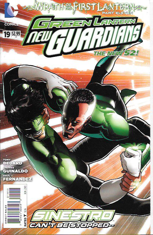 Green Lantern: New Guardians # 19 DC Comics The New 52!