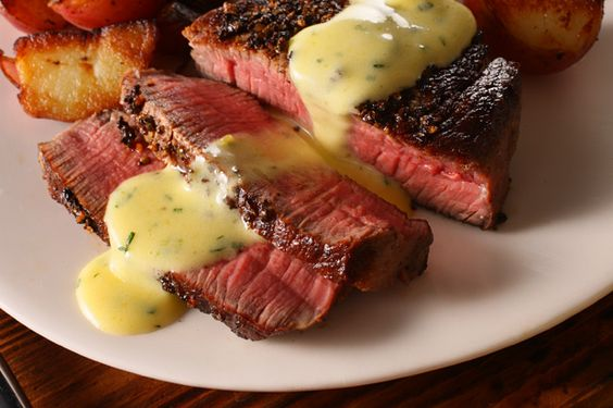 Filet mignon sauce, Bernaise sauce and Sauces on Pinterest