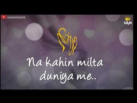 Love You Mom Miss U Mom Whatsapp Status Video Maa