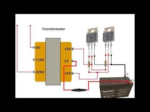 Inverter Sederhana 12volt Ke 220 Volt Simple Inverter 12v To