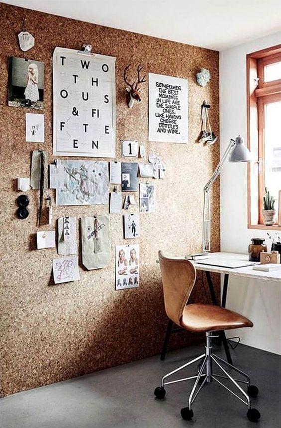 Home Office de coração.: