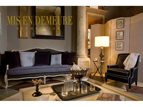 mis en demeure paris home furnishings maison creative. Black Bedroom Furniture Sets. Home Design Ideas