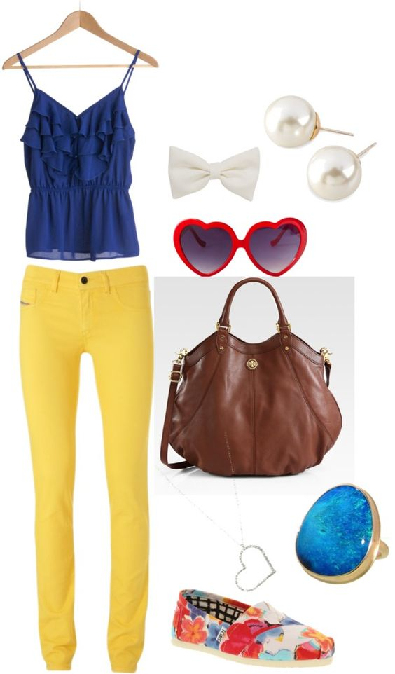 """summer colors"" by aveanderson on Polyvore"