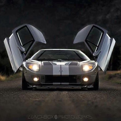As Much As They Can Be Overplayed The Scissor Doors On This Ford Gt Look Pretty Sick