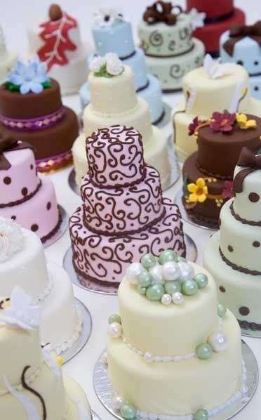 #wedding #cakes #weddings #mini wedding-cakes food-that-means-something