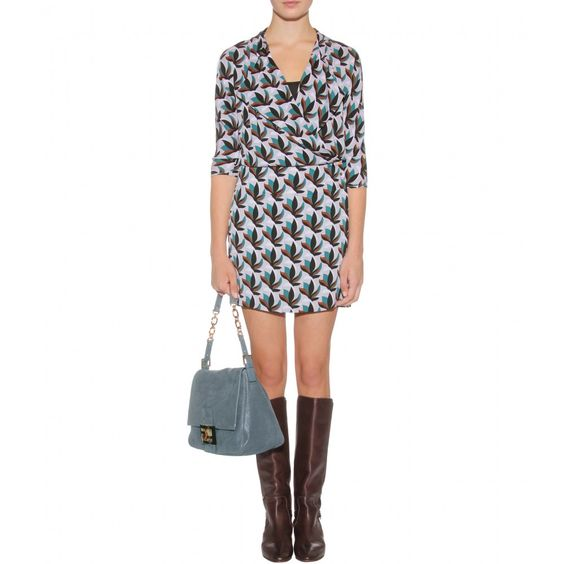 dvf agaton wrap dress. my go-to dress this fall (and forever, really!).