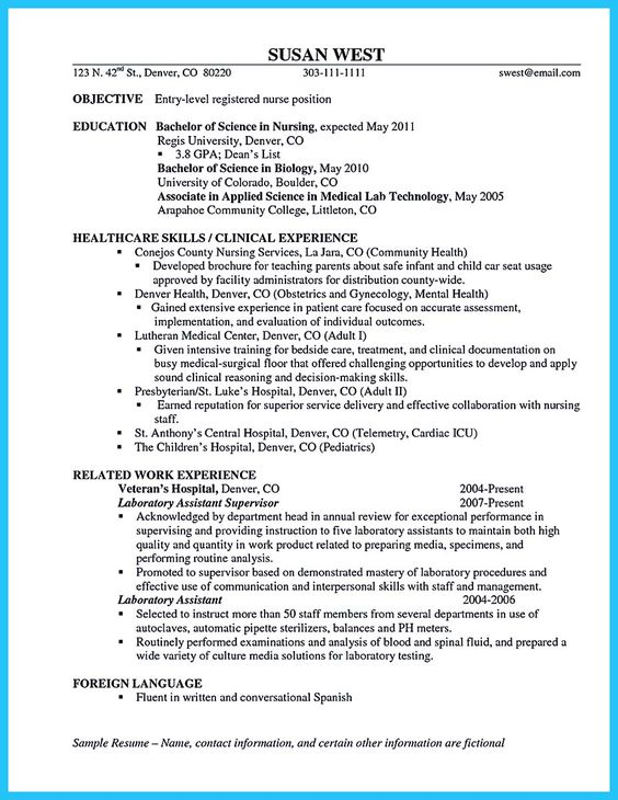 Industrial Engineering Resume Example -    resumesdesign - objective for resume nursing