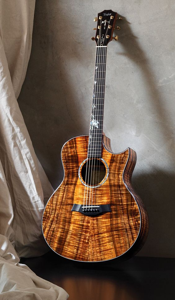 One of the best-sounding guitars I've ever played, and by far the most beautiful.