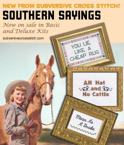The Southern Sayings series, still available as PDFs.