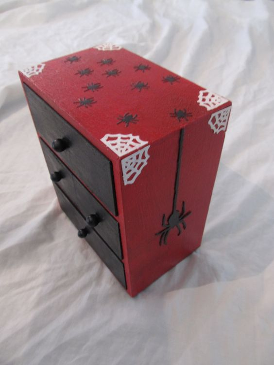 The Spider's Nest Jewelry Chest. $30.00, via Etsy.