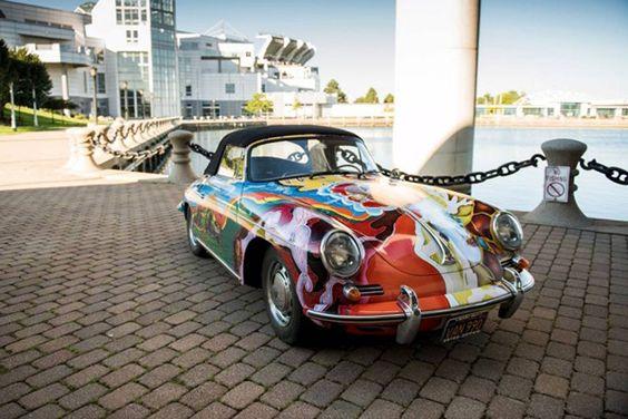Porsche psicodélico de Janis Joplin vai a leilão Blogs Da Redação