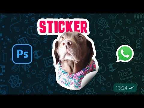 Cómo Hacer Stickers De Whatsapp En Photoshop En 3 Pasos Youtube Photoshop Libros De Diseño Gráfico Trucos De Fotografia