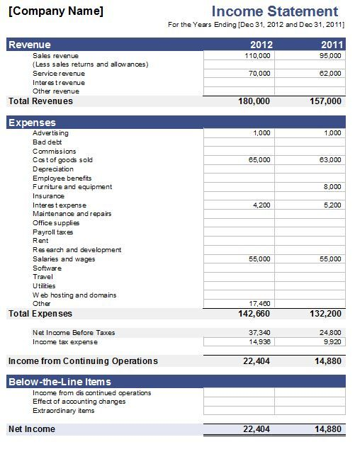 Fillable Personal Financial Statement Personal Financial Statement Financial Statement Financial
