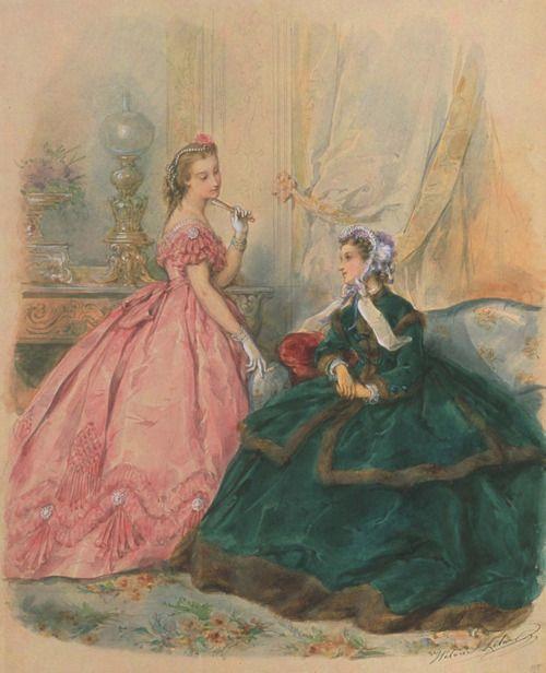La Mode Illustrée, 1864: