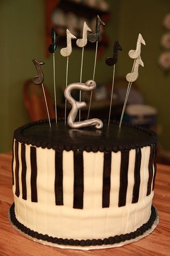 Graduation Cake For Pianist