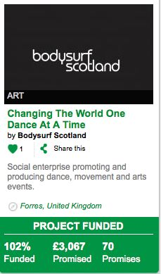 Great result for social enterprise Bodysurf Scotland; reached - and ...