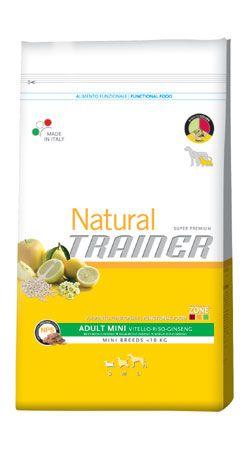 #Trainer natural mini adult al manzo sacco  ad Euro 34.90 in #Catalogo > cani > cibo secco > #Animali domestici