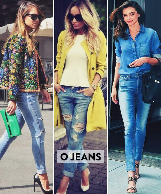 Os básicos do estilo francês O jeans Isabelle prefere o skinny e sugere que tenhamos pelo menos duas cores, o tradicional, super escuro, e o branco. Pra combinar com o blazer durante o dia, pra dar um toque de jovialidade quando usar um lençoou peça mais clássica…