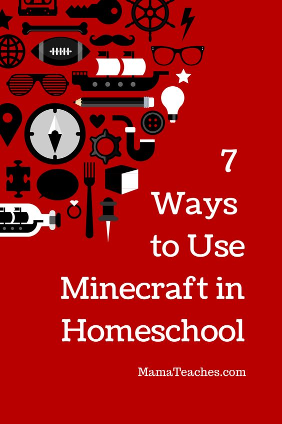 7 Ways to Use Minecraft When Homeschooling http://mamateaches.com/7-ways-to-use-minecraft-when-homeschooling/ #homeschool #minecraft home school ideas, home school activities, home school lessons