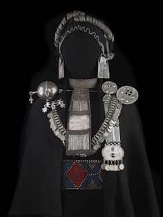 Mapuche jewelry from Chile.