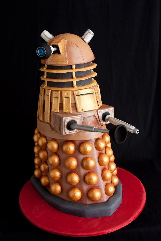 Dalek Cake | 21 Beautifully Geeky Foods