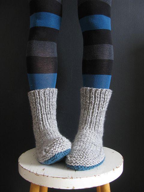 28 Best Knit Footwear Images On Pinterest Knitting Knitting Socks