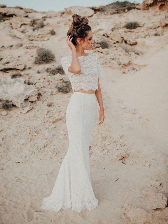 Vestidos de novia civil para playa
