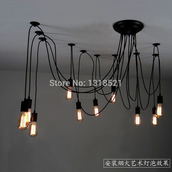 Loft ampoules and ampoules edison on pinterest for Acheter maison en chine