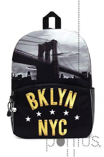 Mochila Mojo Brooklyn escolar 30,5x43,2x15,2cm | JB