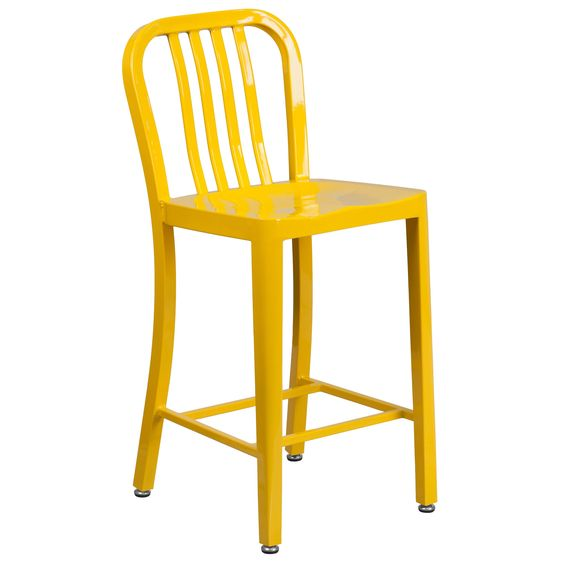 Flash Furniture 24 inches Stool w/ Back