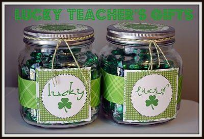 St. Patrick jar for teachers