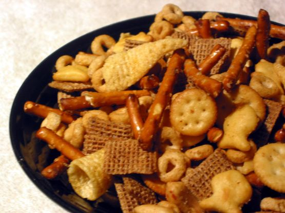 Christmas Nuts N Bolts Snack Recipe - Food.com