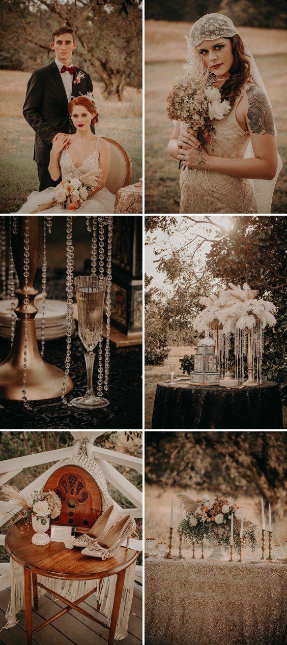 The Great Gatsby Styled Wedding Inspiration A Princess Inspired Blog Vintage 1920 S Gatsby Wedding Theme Vintage Wedding Centerpieces Gatsby Style Wedding