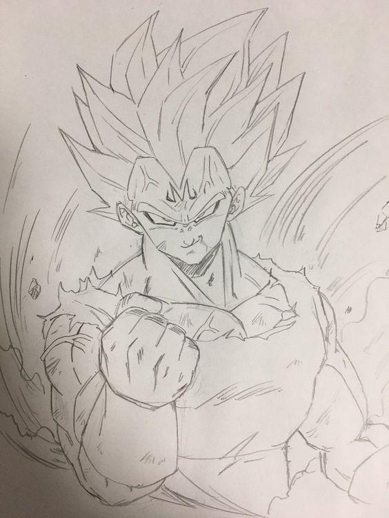 Pin De Eddyzinhow Em Dragon Ball Top Vegeta Desenho