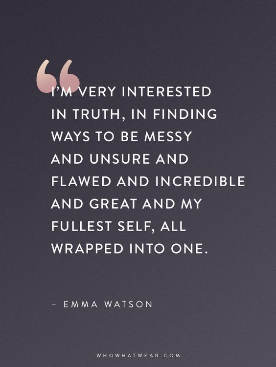 Emma Watson Quotes That Every Woman Should Read via @WhoWhatWear: