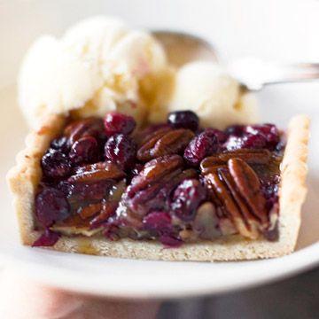 Pecan-Cranberry Tart