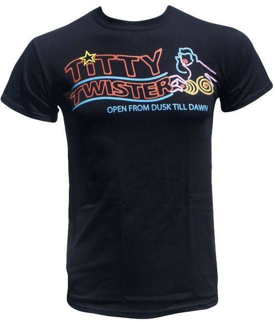 Titty Twister T Shirt - Cult Horror Tee - Graphic Tees For Men and Women by StrangeLoveTees on Etsy https://www.etsy.com/listing/104665903/titty-twister-t-shirt-cult-horror-tee